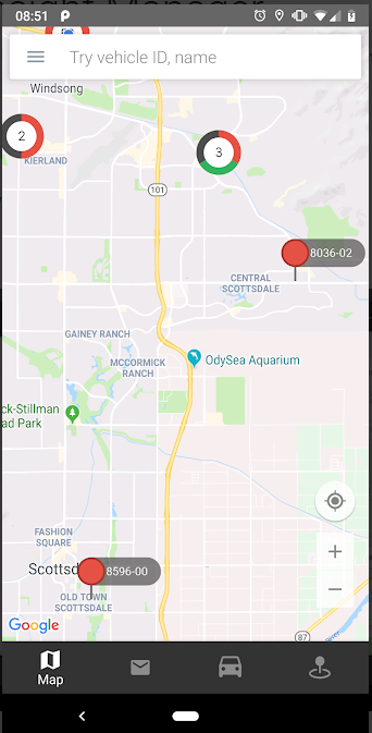 gps insight app map view