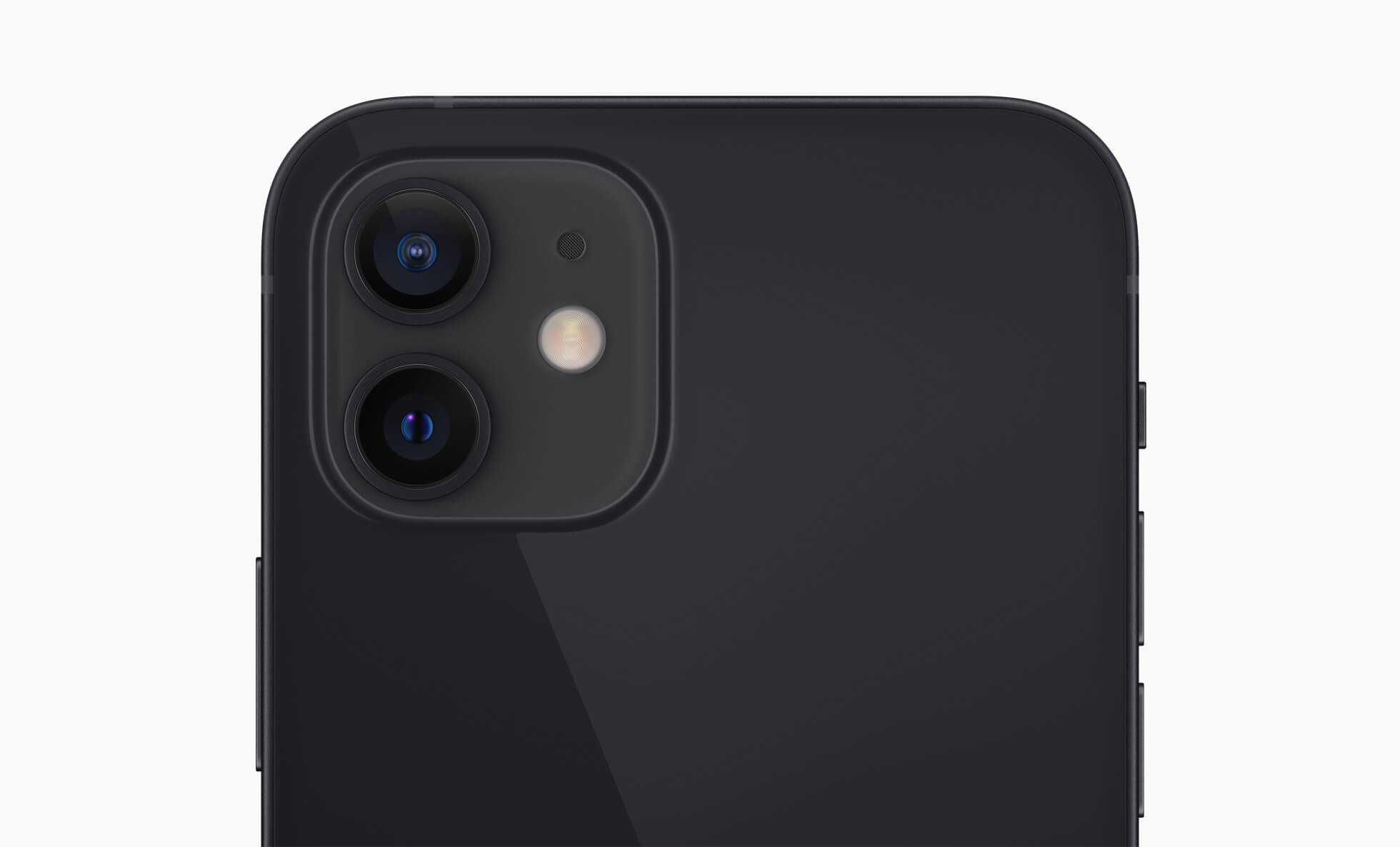 The iPhone 12 dual camera system