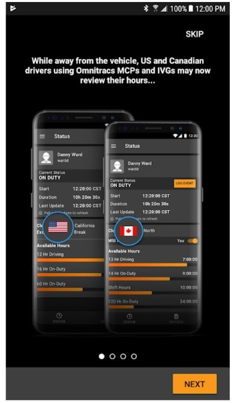 HoursGo mobile app for US and canada