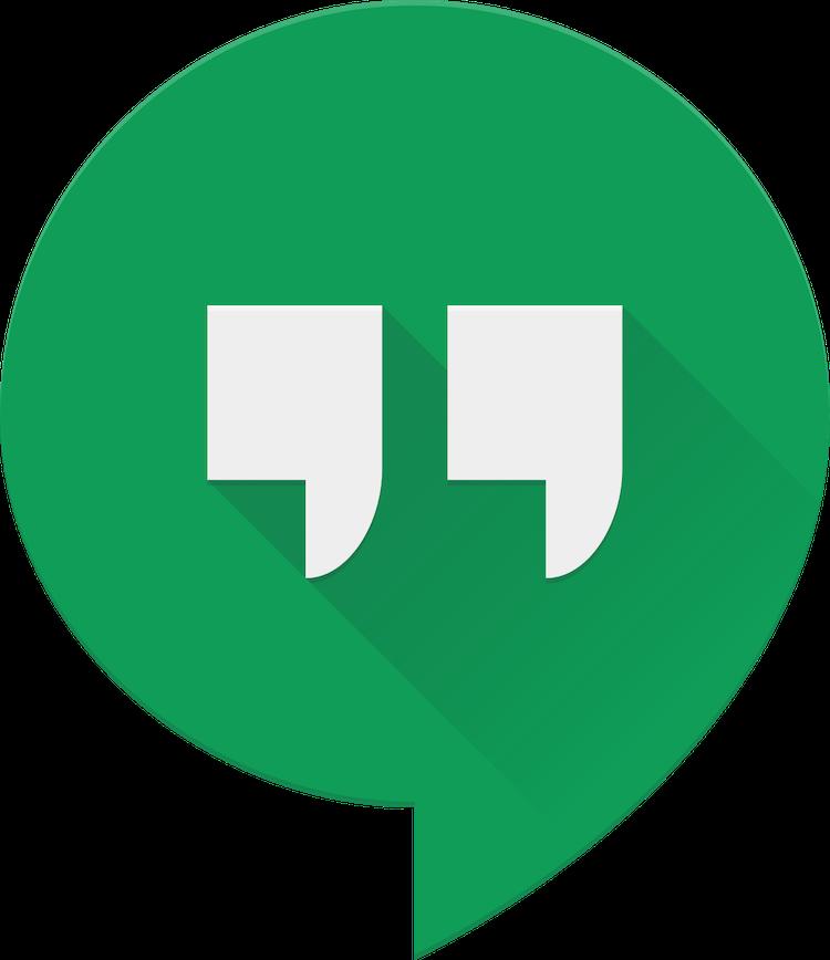 Google Hangouts Logo Big