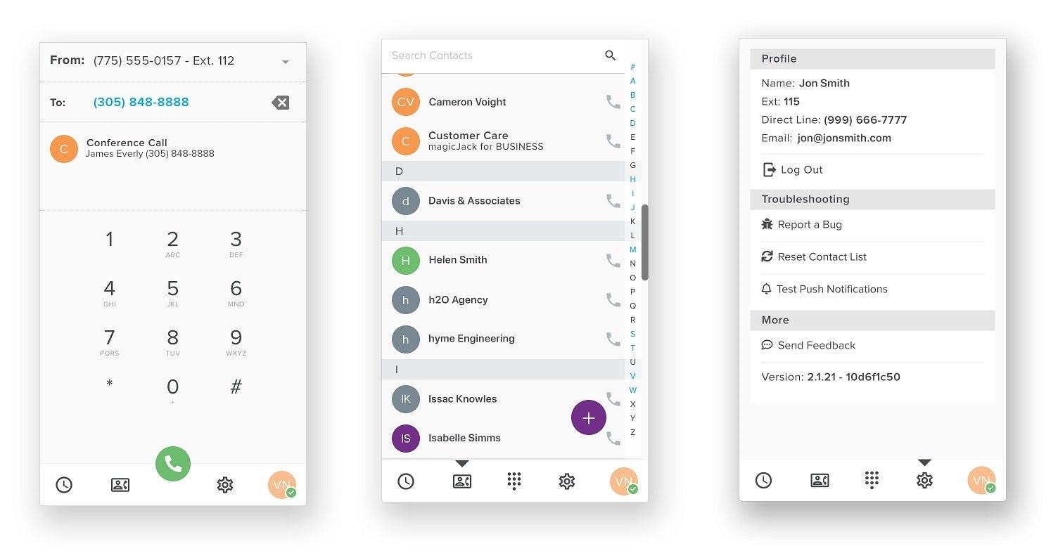 MagicJack Mobile App