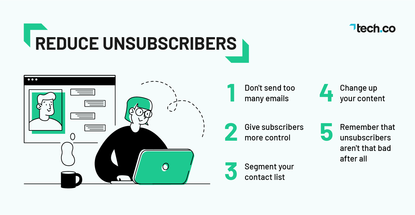 Reduce Unsubscribers Tips