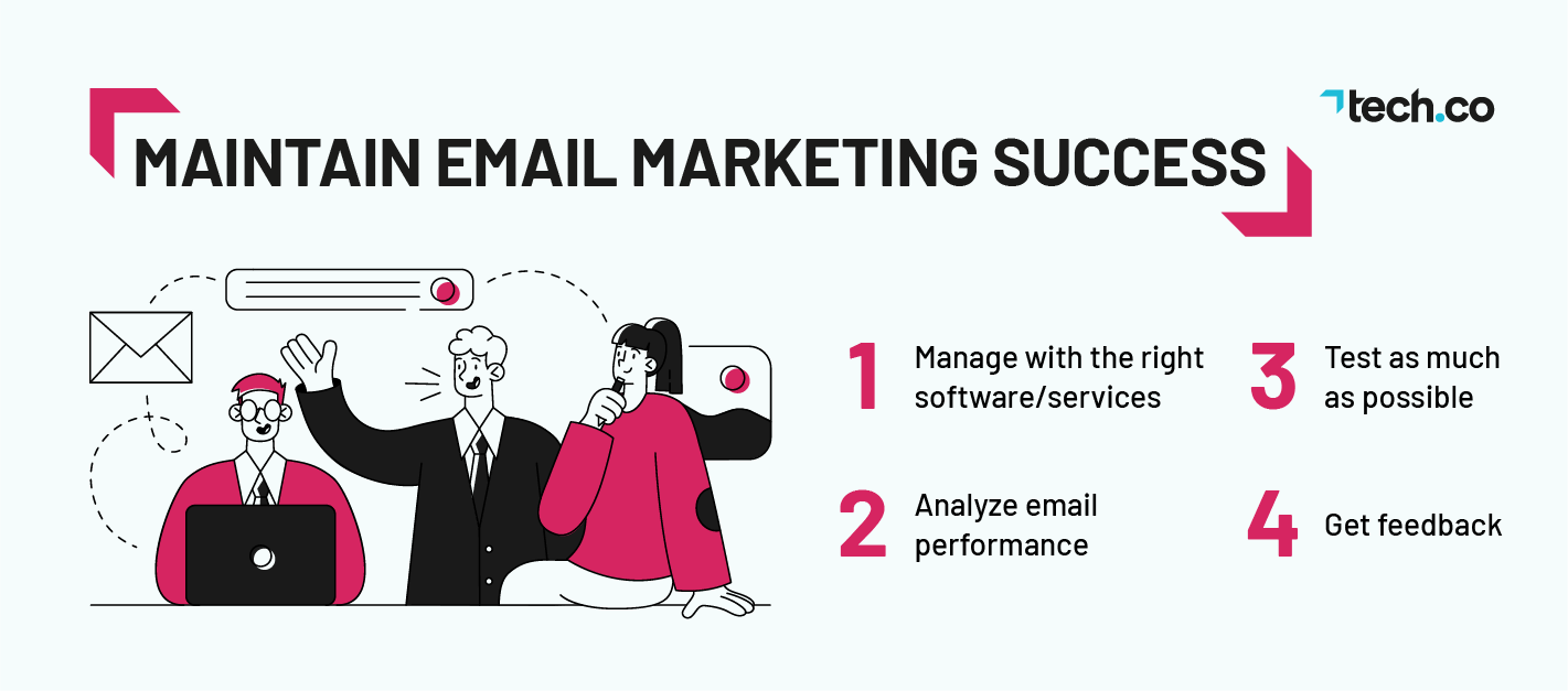 Maintain Success Email Marketing Tips