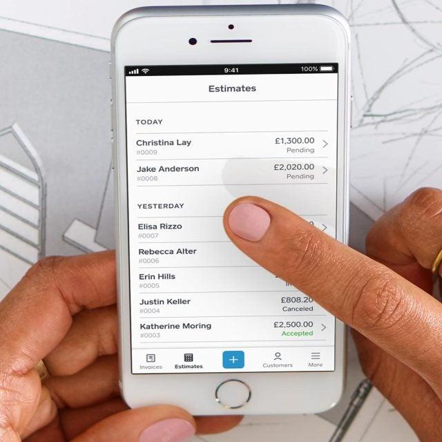 square invoices app