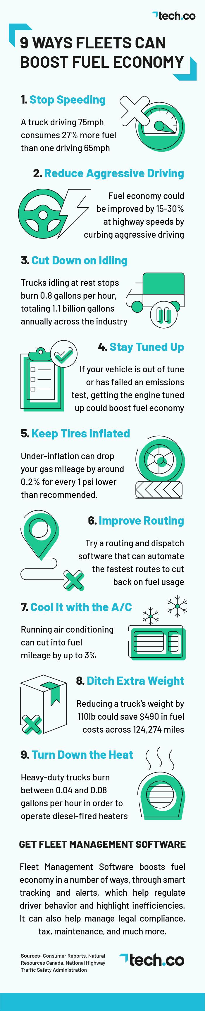 Fuel Economy Infographic