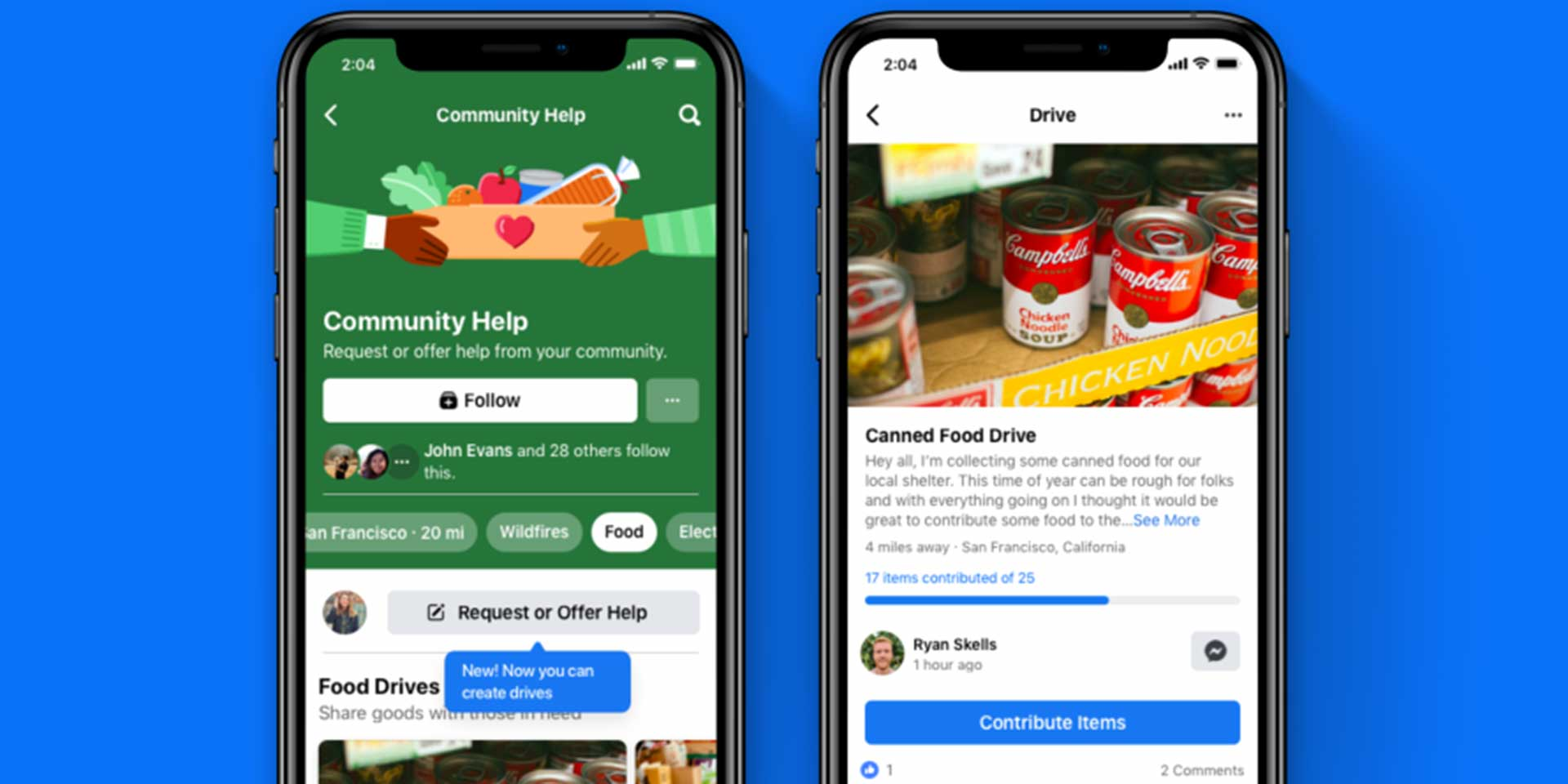 Facebook Drives Wants to Help You to Help Others | Tech.co
