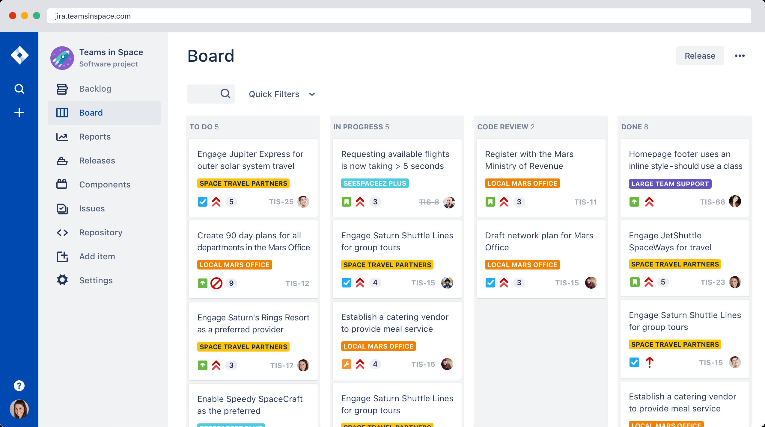Jira Board