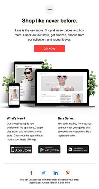 Zoho Campaign Template Bussiness