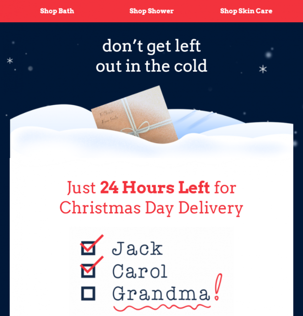 Campaign Monitor Template Holiday