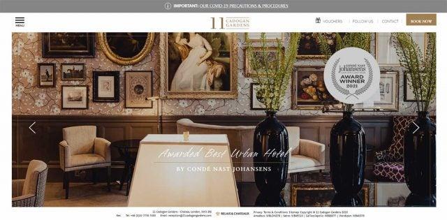 cadogan garden website
