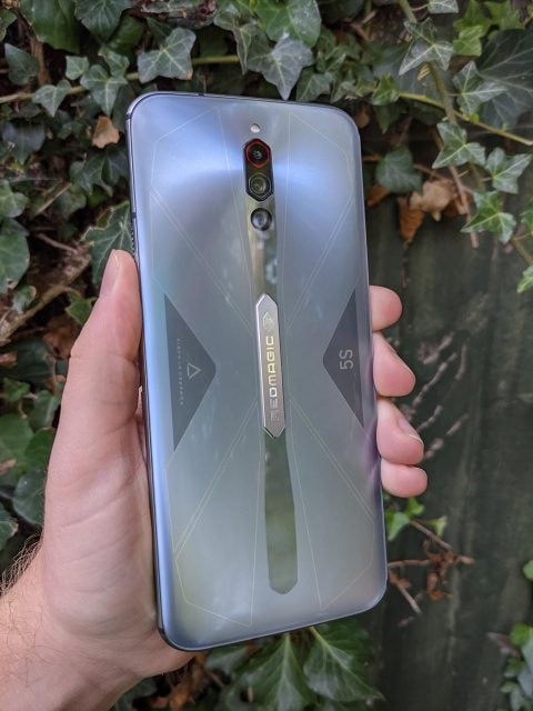 nubia redmagic 5s rear panel