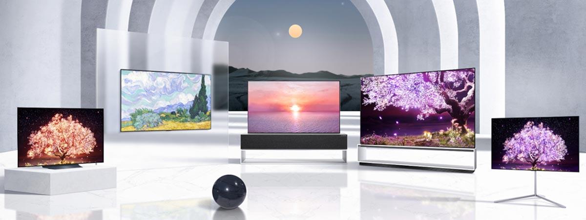LG OLED TV Lineup CES 2021