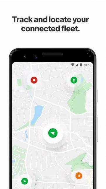 Verizon Spotlight app map view