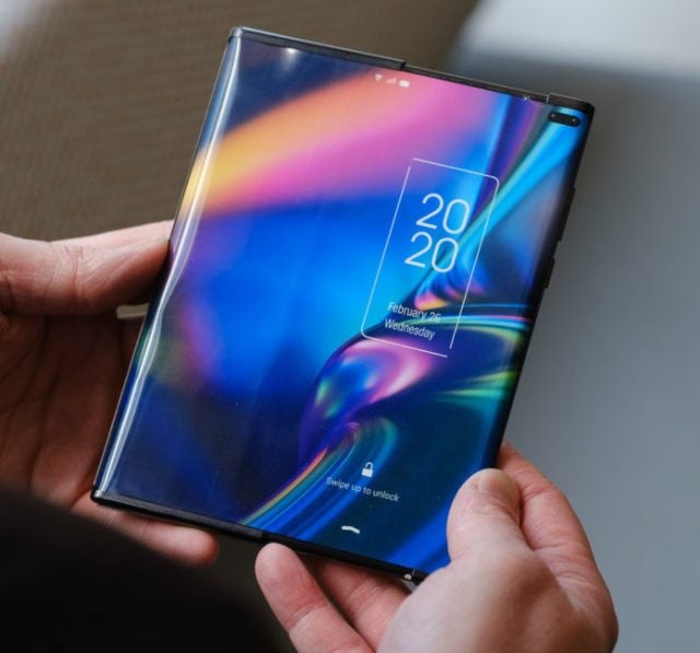TCL Rollable Concept Phone