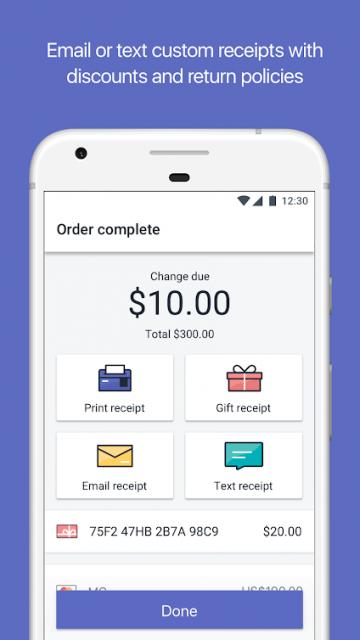 shopify receipt options