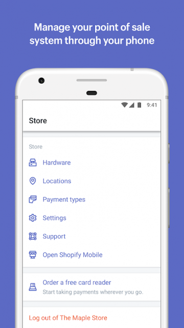 shopify app management