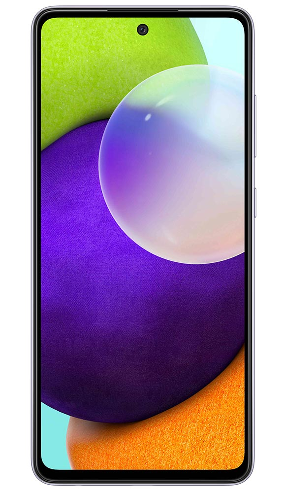 Samsung a52 front