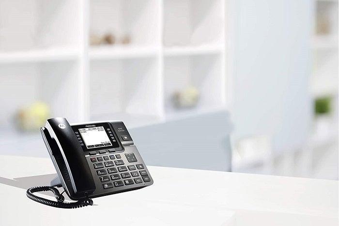 Motorola ML1002D in use
