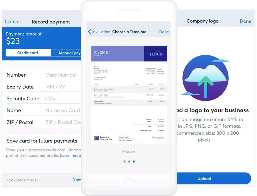 Wave Invoicing mobile