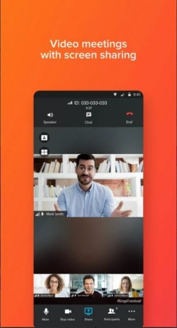 ringcentral mobile app 2