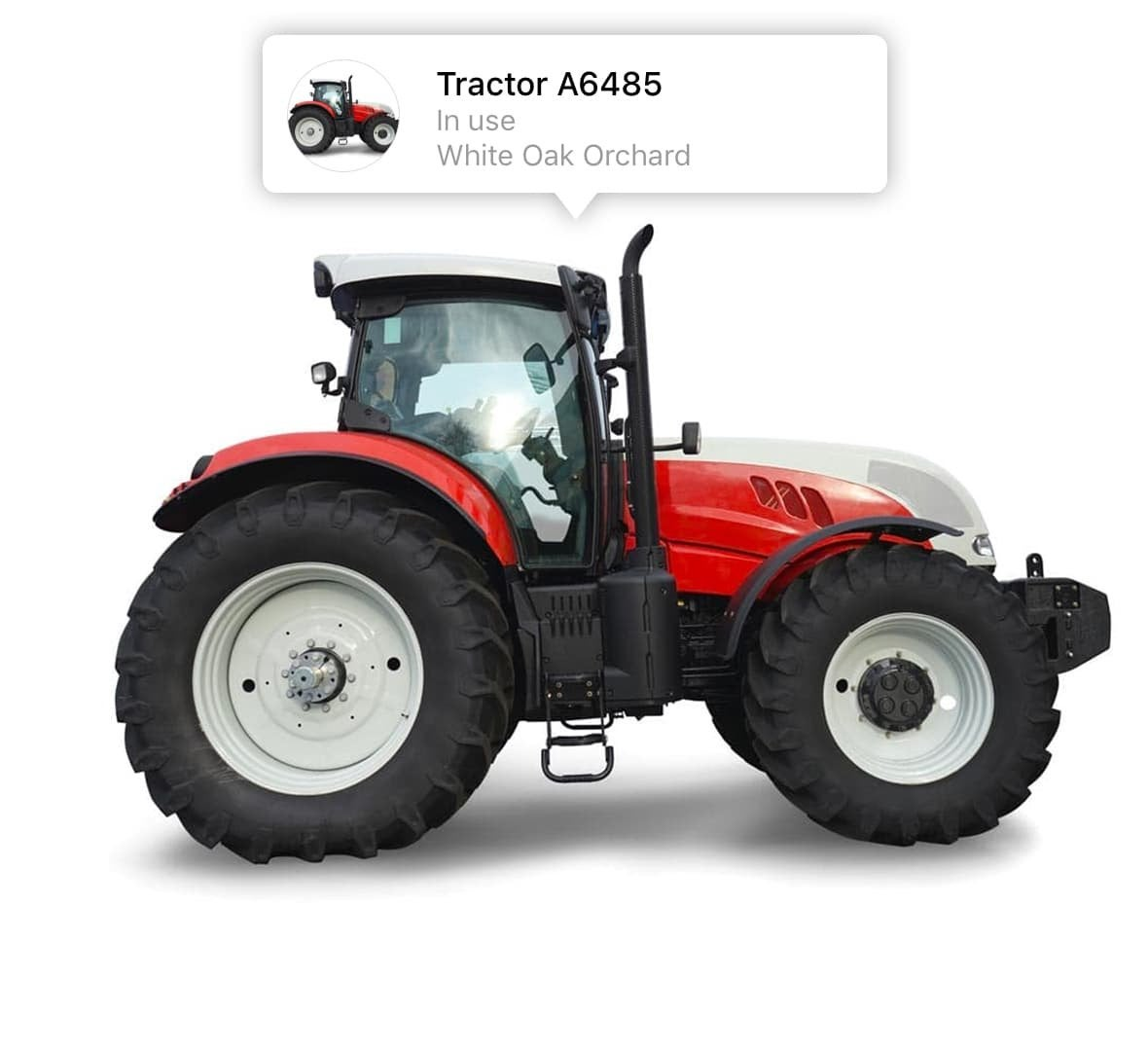 Asset Tracking Tractor