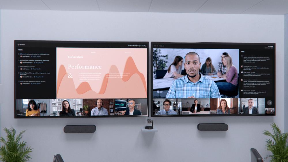 Microsoft Teams Front Row