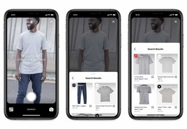 instagram visual search