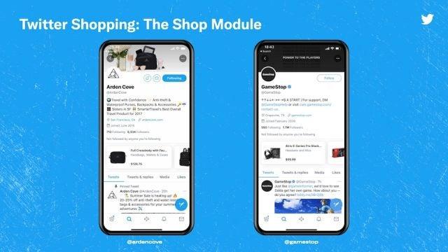 Shop Module Twitter